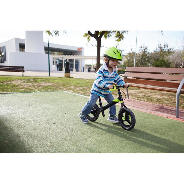 Draisienne enfant 10 pouces RunRide 520 Noir Jaune VTT