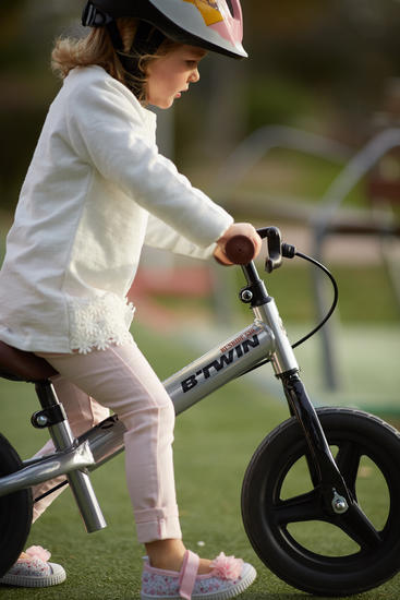 Draisienne enfant 10 pouces Run Ride cruiser Silver