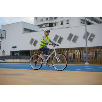 Fahrrad-Sicherheitsweste Kinder neongelb