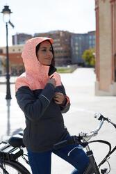 Warme fietsregenjas 900 dames reflecterend - 962567