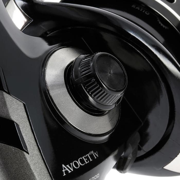 Medium zware vismolen Avocet IV silver FD 6000