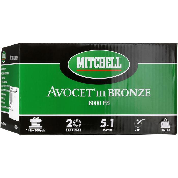 Freilaufrolle Avocet 6000 Bronze