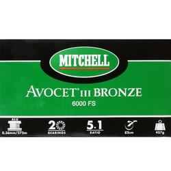 Hengelmolen Avocet brons Freespool 6000