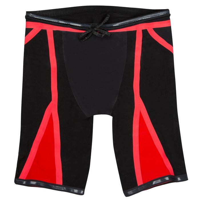 Wedstrijdjammer voor heren Fina 990 Fast zwart rood