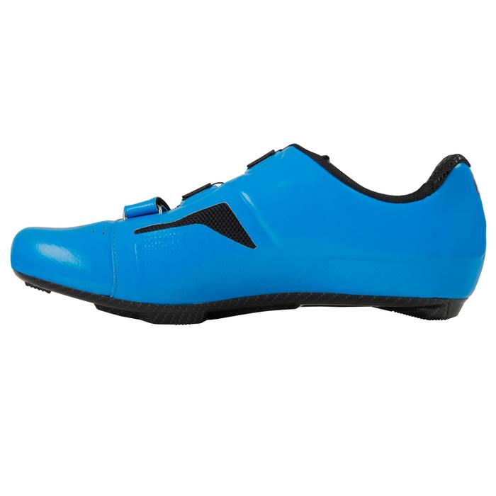 Fietsschoenen 900 Aerofit zwart/blauw