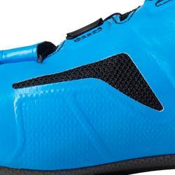 Fahrradschuhe Rennrad 900 Aerofit Carbon schwarz/blau