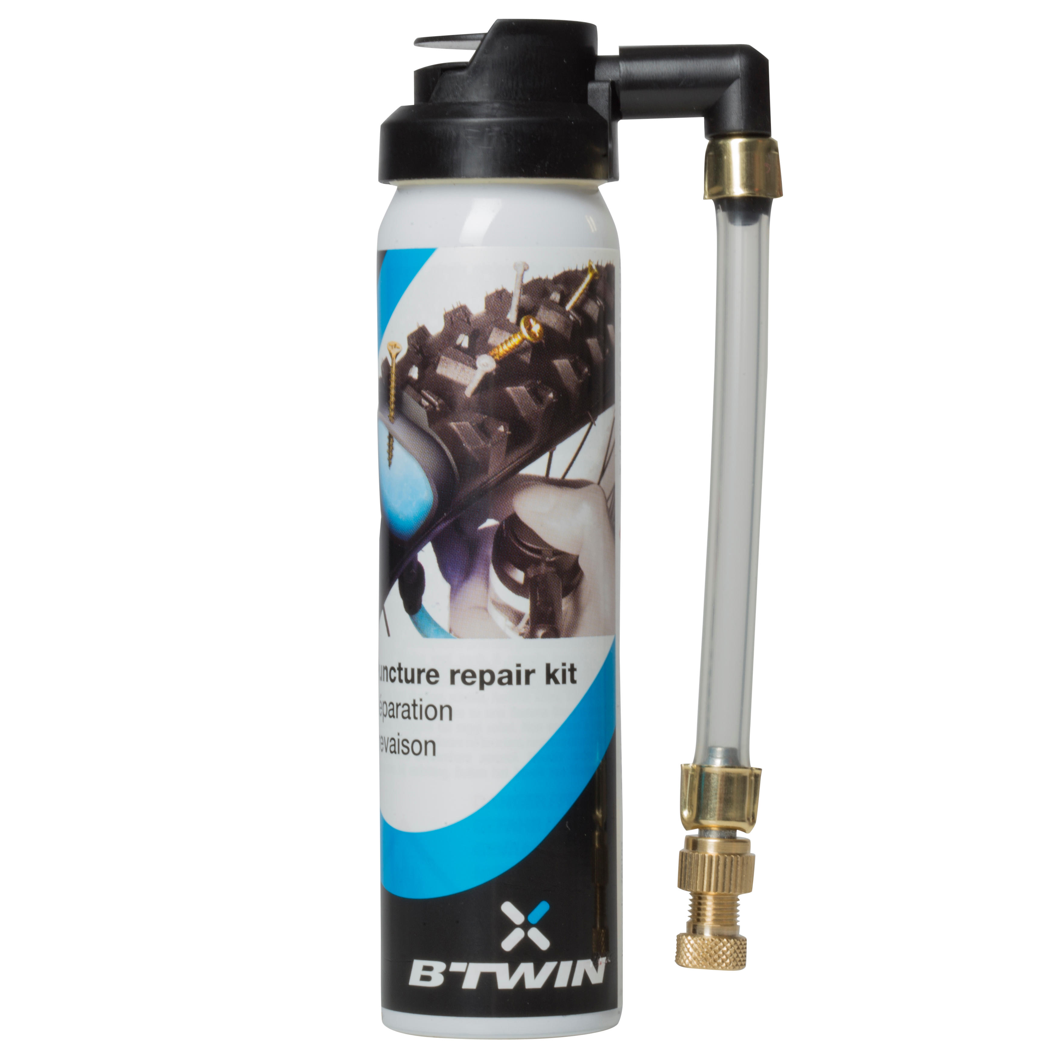 Bike Presta and Schrader Puncture Repair Spray