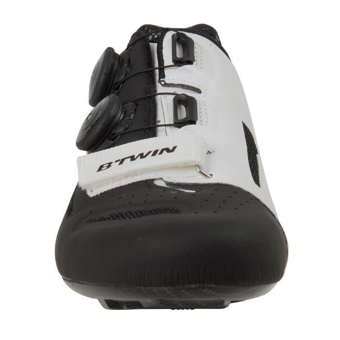 Chaussures vélo 900 AEROFIT noir/blanc