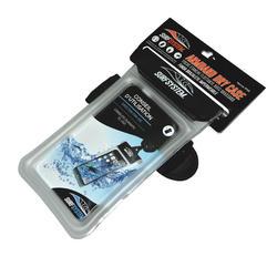Waterdicht en drijvend telefoonetui met strap en aansluiting voor je oortjes - 963408