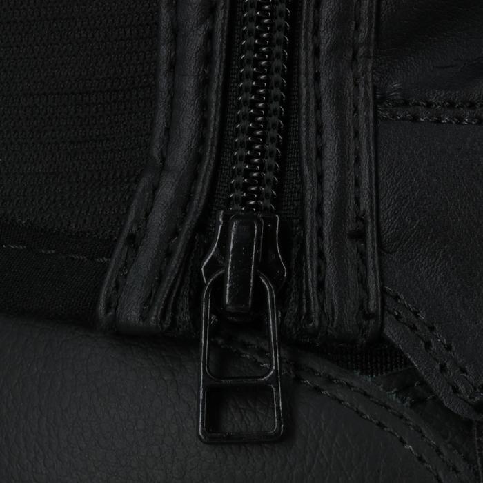 Mini-chaps équitation adulte CLASSIC 100 synthétique noir - 963858