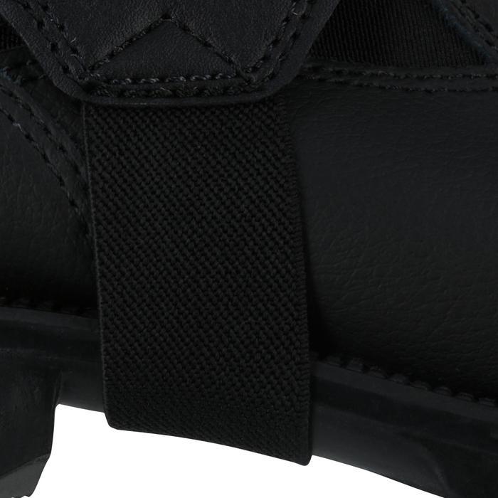 Minichaps voor paardrijden volwassenen Classic synthetisch zwart