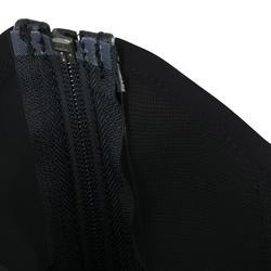 Mini-jambières équitation adulte CLASSIC 140 synthétique noir