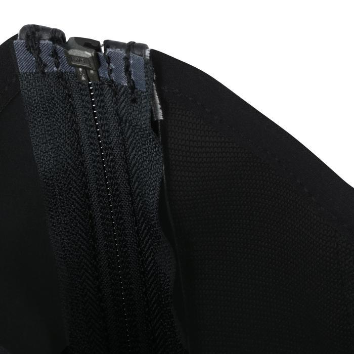 Mini-chaps équitation adulte CLASSIC 100 synthétique noir - 963860