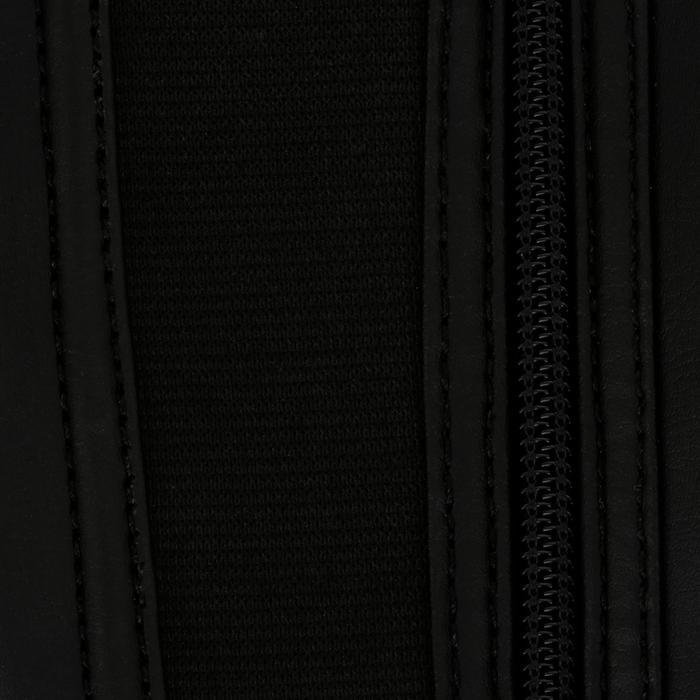 Mini-chaps équitation enfant ClASSIC 100 synthétique noir - 963866