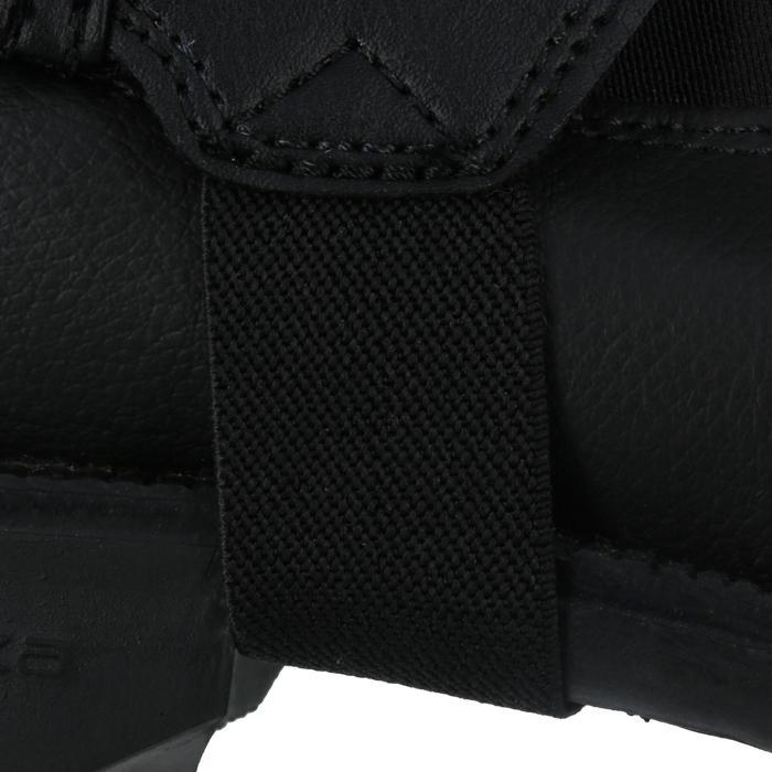 Mini-chaps équitation enfant ClASSIC 100 synthétique noir - 963868