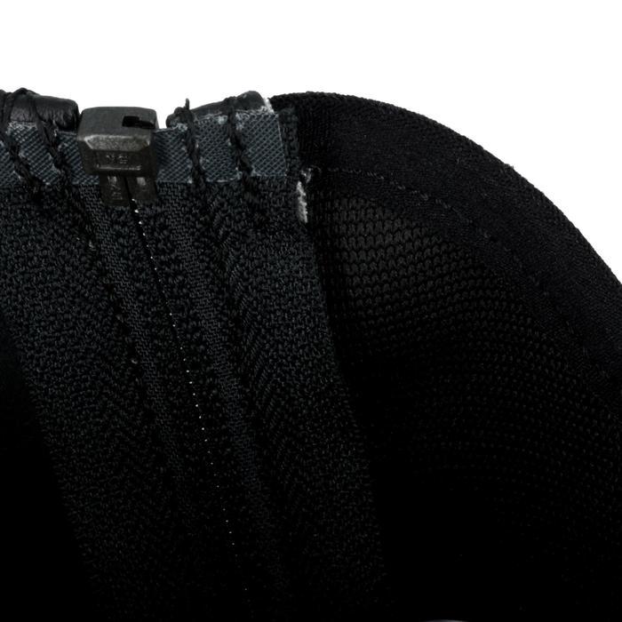 Mini-chaps équitation enfant ClASSIC 100 synthétique noir - 963869