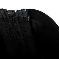 Synthetische minichaps Classic 140 voor kinderen ruitersport zwart