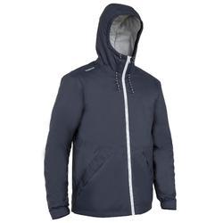 男款油布保暖航海外套-深藍色