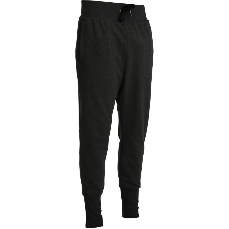 Pantalon slim DRY SKIN musculation homme gris foncé