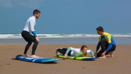 Olaian cours de surf - Olaian surfboards