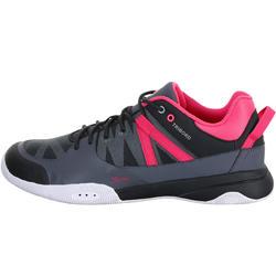 Dekschoenen Arin 500 voor dames grijs/roze - 965606