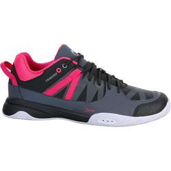 Zapatillas de cubierta para mujer ARIN500 gris/rosa