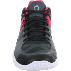 Dekschoenen Arin 500 voor dames grijs/roze - 965608