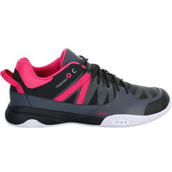 Dekschoenen Arin 500 voor dames grijs/roze - 965610