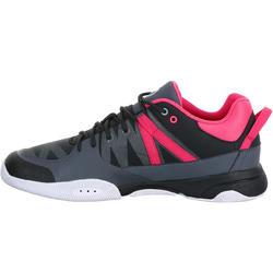Dekschoenen Arin 500 voor dames grijs/roze - 965612