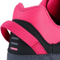 Dekschoenen Arin 500 voor dames grijs/roze - 965614