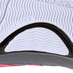 Dekschoenen Arin 500 voor dames grijs/roze - 965616