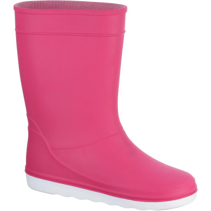 Bottes de pluie Sailing 100 enfant rose