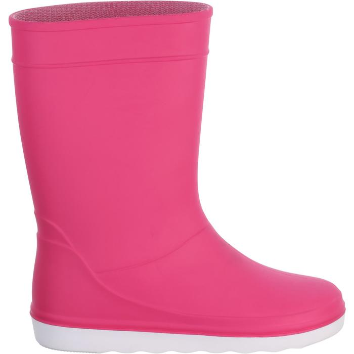 Kids' Sailing Rain Boots 100 - Pink