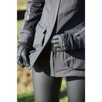 Kipwarm Adult Horse Riding Gloves - Black - 96563