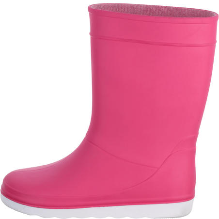 B100 Children's Sailing Boots - Pink