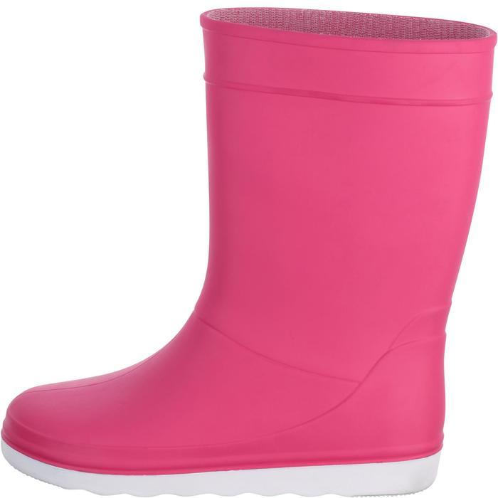 Segelgummistiefel B100 Kinder rosa