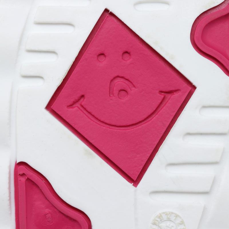 Botas de Agua Barco Vela Tribord Sailing 100 Niños Rosa Impermeable