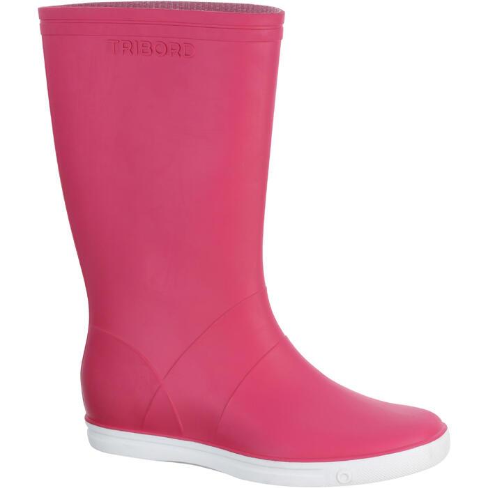 Zeillaarzen Sailing 100 voor volwassenen roze