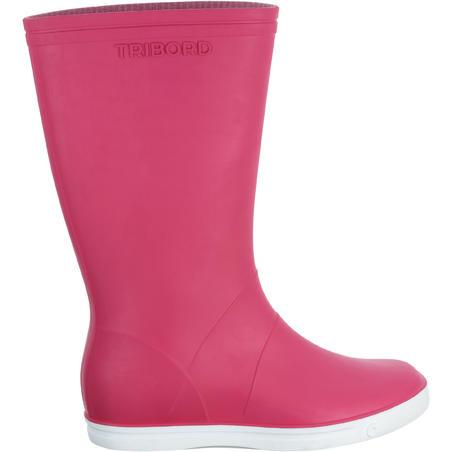 Sailing 100 Adult Sailing Boots - Pink