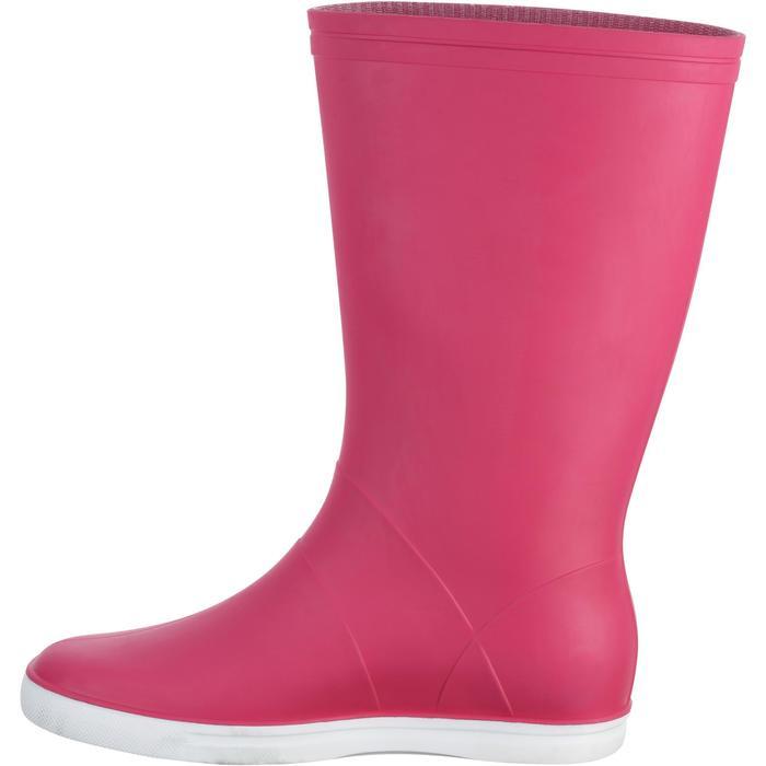 Segelgummistiefel B100 Erwachsene rosa