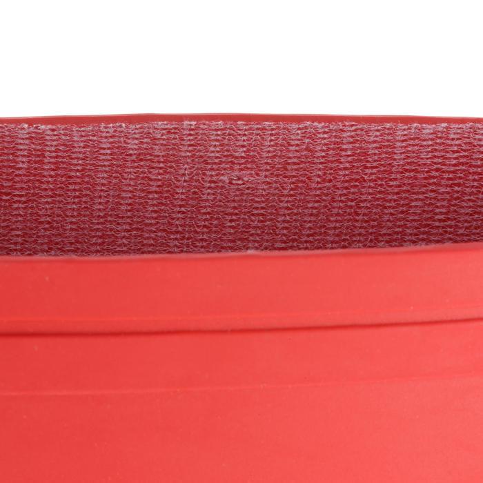 Zeillaarzen Sailing 100 voor volwassenen rood