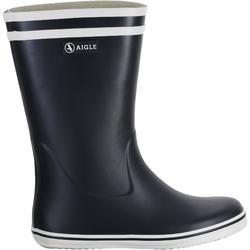 Zeillaarzen voor dames, blauw