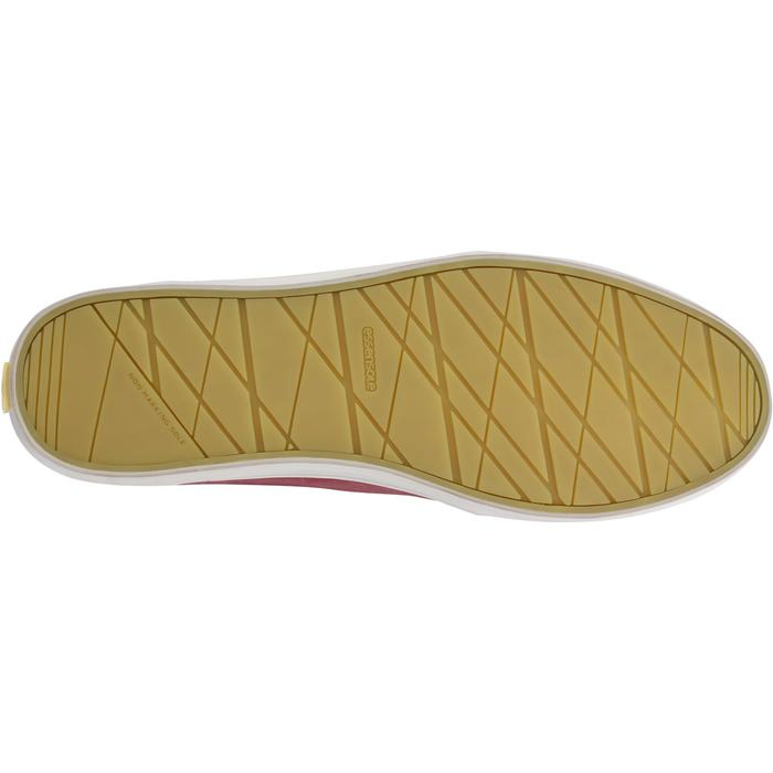 Calzado náutico de piel para hombre KOSTALDE burdeos