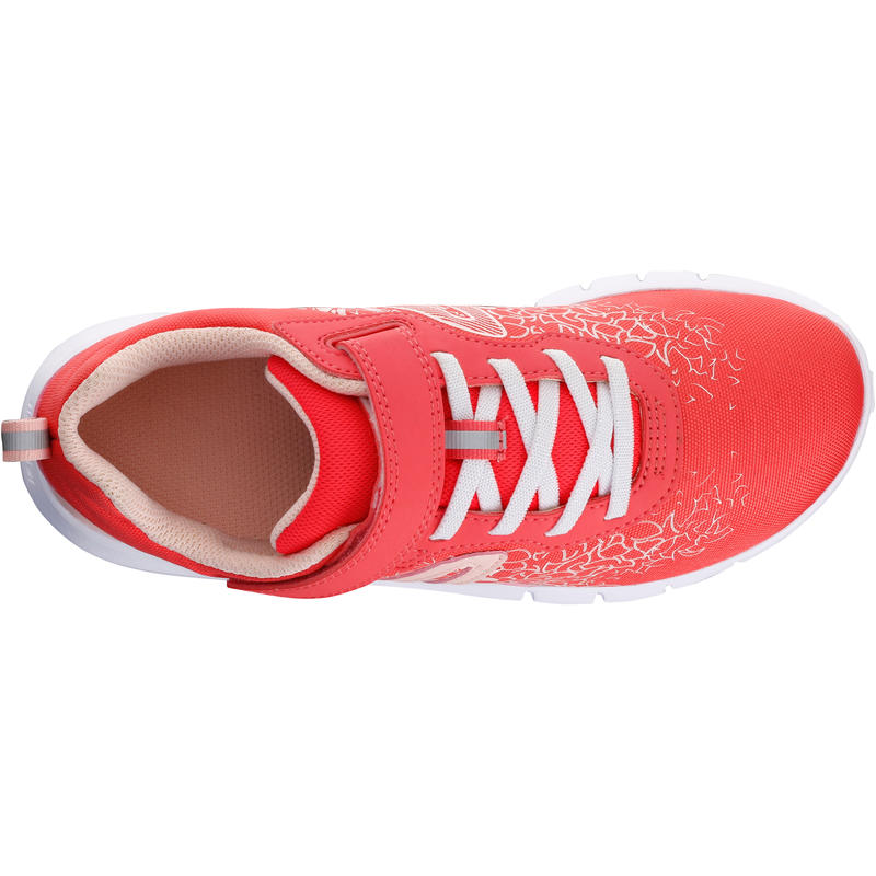 Shoes Fitness Walking Children Soft 140 - Pink/Coral