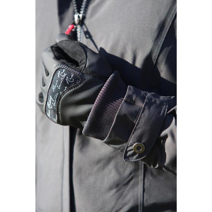 Kipwarm Adult Horse Riding Gloves - Black - 96614