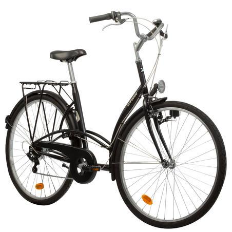 Elops 300 City Bike - Black