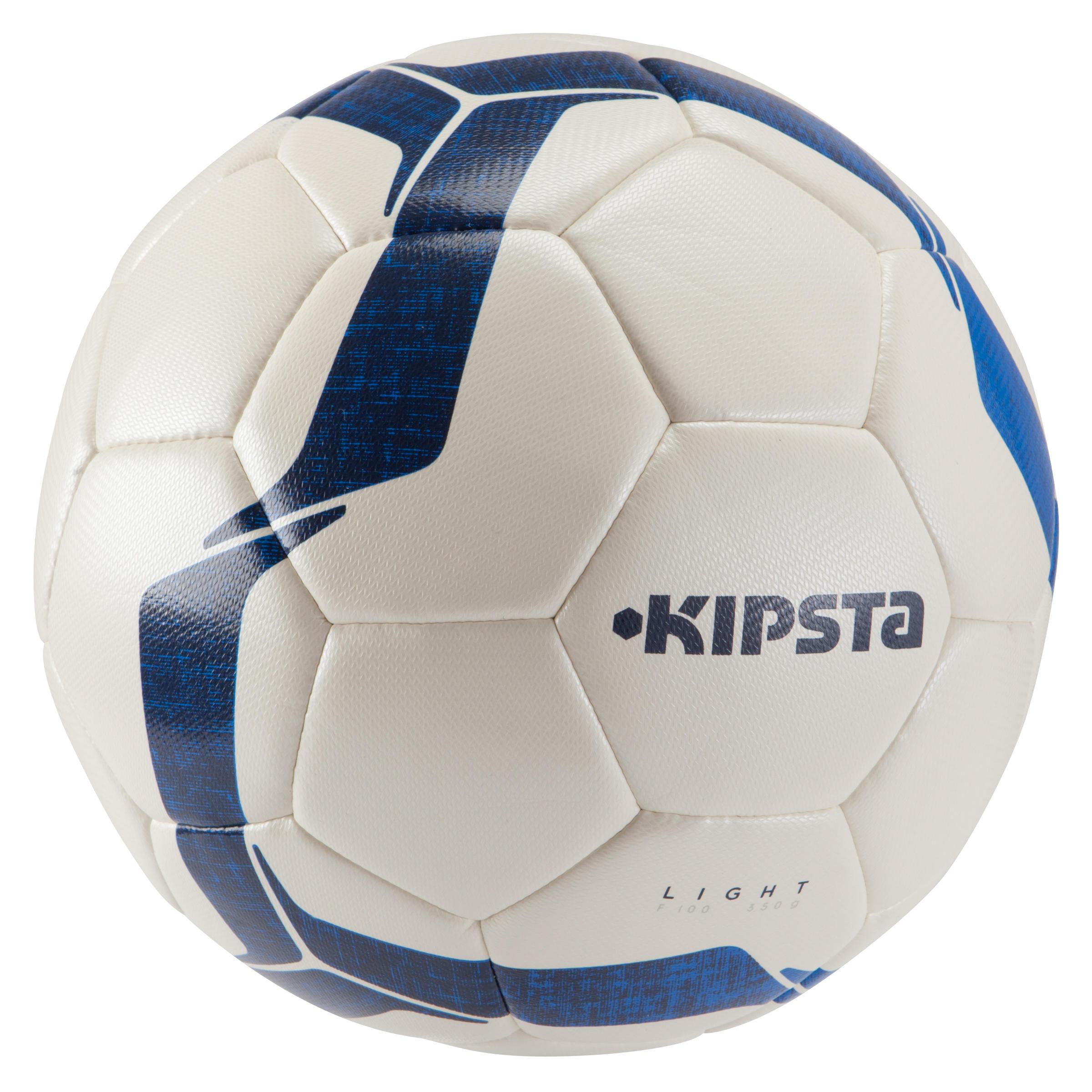 Ballon de soccer F100 hybride light taille 5 ivoire