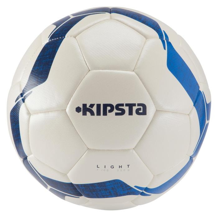 Ballon de football F100 Hybride light taille 5 ivoire - 966379