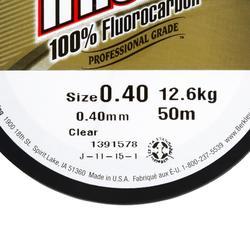 FLUOROCARBONE PECHE AUX LEURRES TRILENE 100% FLUORO 50M 20/100