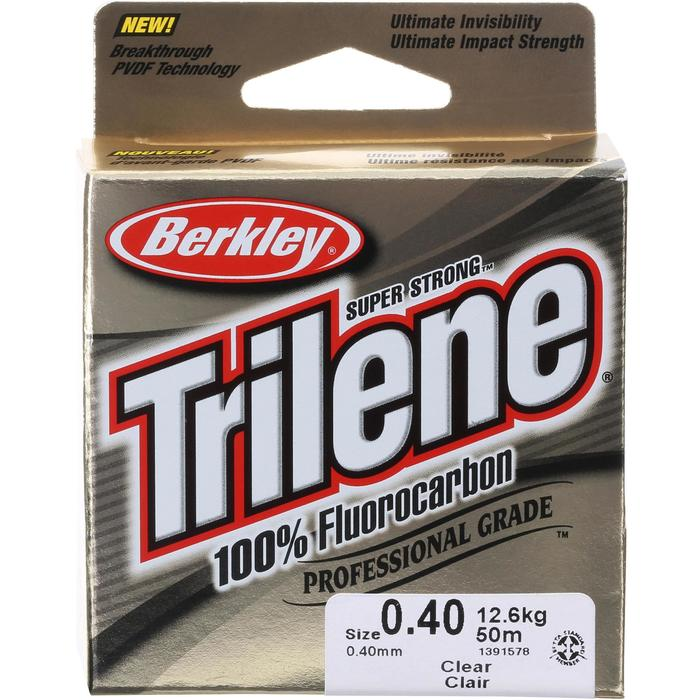 Vislijn Trilene 100% fluorcarbon 50m 40/100
